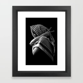 Peace Pose Framed Art Print