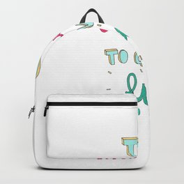 Too exhausted to give a fuck Tumblr Design Backpack