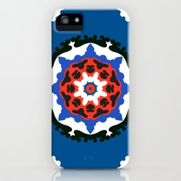Bold and bright beauty of suzani patterns ver.7 iPhone Case