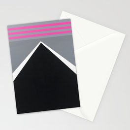 August - mirror pink Stationery Cards