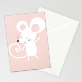 Monty Mouse and Carlie Cat Stationery Cards