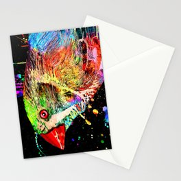 Zebra Finch Bird Stationery Cards
