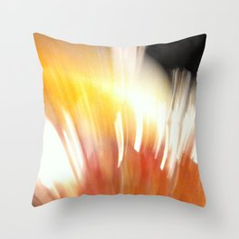 Liquid Lights Throw Pillow