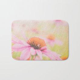 Pink Coneflower Revels Bath Mat