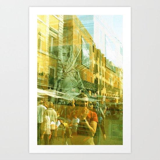 Summer in April Art Print
