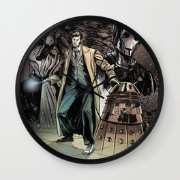 10th doctor Wall Clock