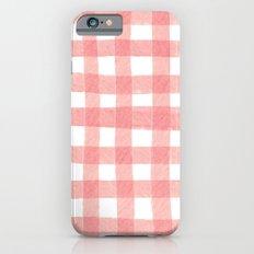 Gingham Watermelon Slim Case iPhone 6s