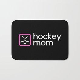Hockey Mom (Pink) Bath Mat