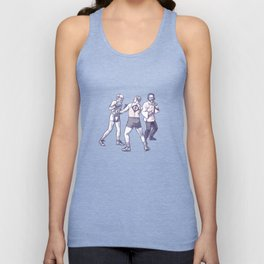 Freud, Jung, and Watts, walk into a bar... Unisex Tank Top