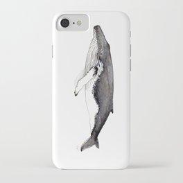 North Atlantic Humpback whale iPhone Case