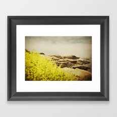 Sea Swept Framed Art Print