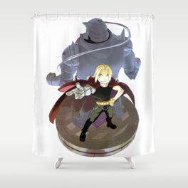 Fullmetal Alchemist - Alphonse & Edward Shower Curtain