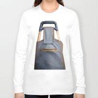 tiki Long Sleeve T-shirts featuring Tiki Luggage by Del Gaizo