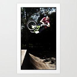 BMX AIR Art Print