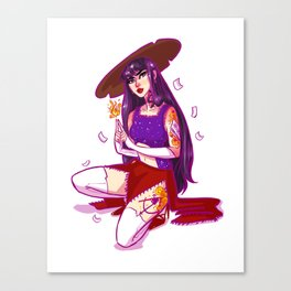 Mars Witch Canvas Print