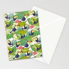 Toucan Paradise Pattern Stationery Cards