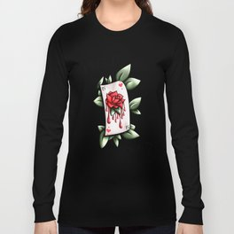 Rose Card  Long Sleeve T-shirt
