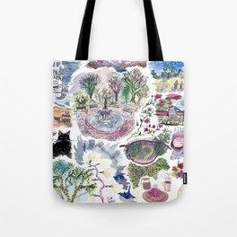 Random Access Paintings Tote Bag