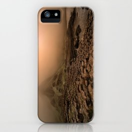 When the sun is going down iPhone Case