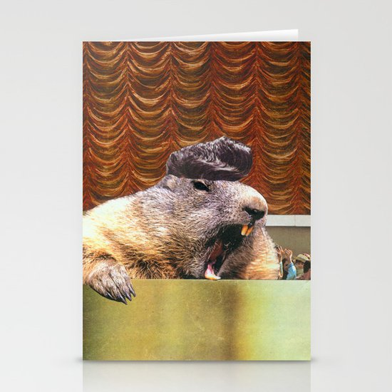 Justin Beaver Stationery Cards
