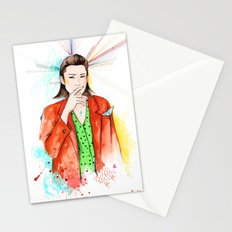 Red boy Stationery Cards