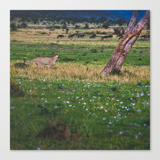 The Chase Canvas Print
