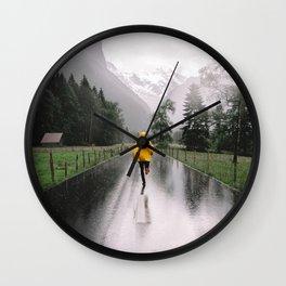 Lauterbrunnen valley Wall Clock