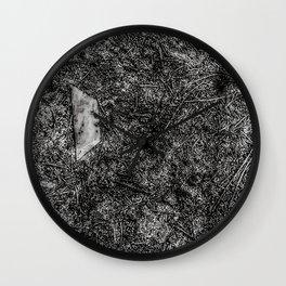 Razor Blade Found Object (Paint Daubs) Wall Clock