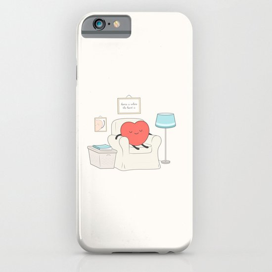 home is where the heart is iPhone & iPod Case