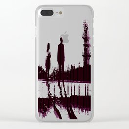 Watching the Refinery Clear iPhone Case