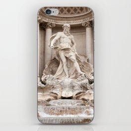 Trevi Fountain II iPhone Skin