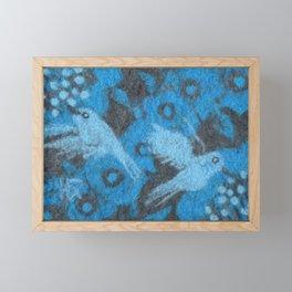 The Hummingbirds Framed Mini Art Print