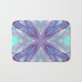 Watercolor Abstract Bath Mat