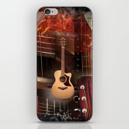 The Acoustic Guitar  iPhone Skin
