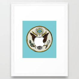 United States of Apple Framed Art Print