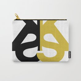 Kia Sterling Black/Gold Carry-All Pouch