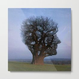 HEAD TREE Metal Print