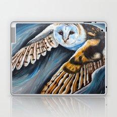 Night Owl in flight Laptop & iPad Skin