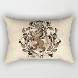 Gryphon Coat Of Arms Heraldry Rectangular Pillow