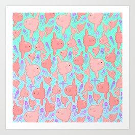 Mola Nola Art Print