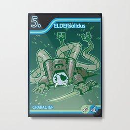 Pinky Gear Solid (1 of 5): ElderSolidus Metal Print