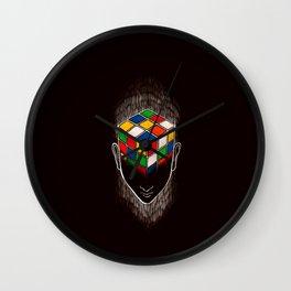 Enigma (dark version) Wall Clock