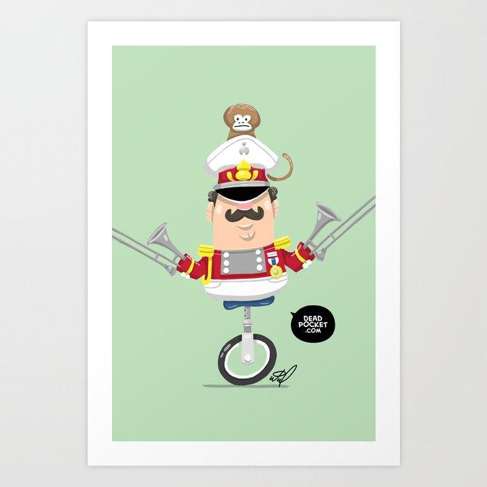 Captain Pizzazz Art Print