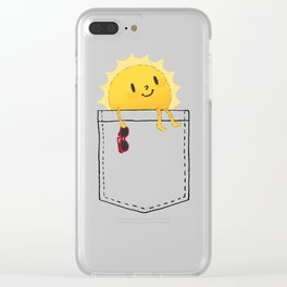 Pocketful of sunshine Clear iPhone Case