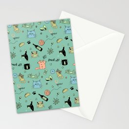 90% Cats Stationery Cards