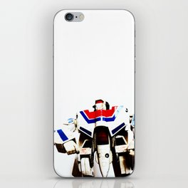 Let's fight like robots iPhone Skin