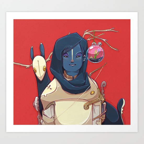 Hunter Gather Art Print