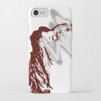 nike iPhone & iPod Cases featuring Athena Nike  by Emma Elisabeth