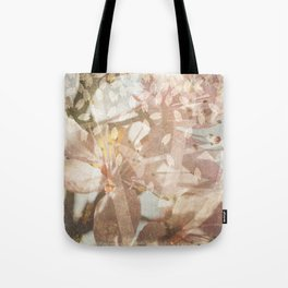 Cherry Blossoms Composed Image Tote Bag