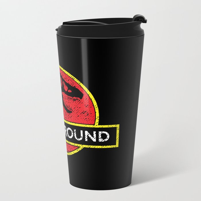 Monsters of the Underground Metal Travel Mug